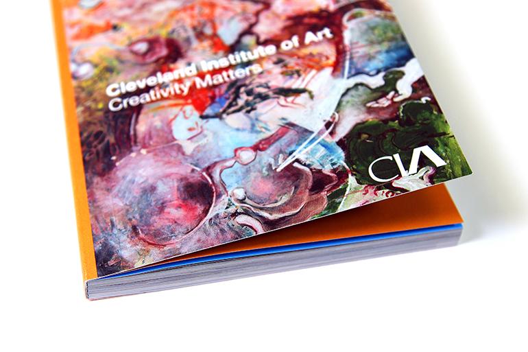 Creativity Matters Cleveland Institute of Art - Print Brochure 2