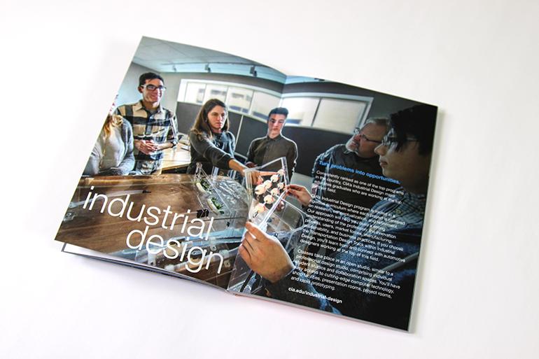 Creativity Matters - Cleveland Institute of Art 2 - Print Brochure