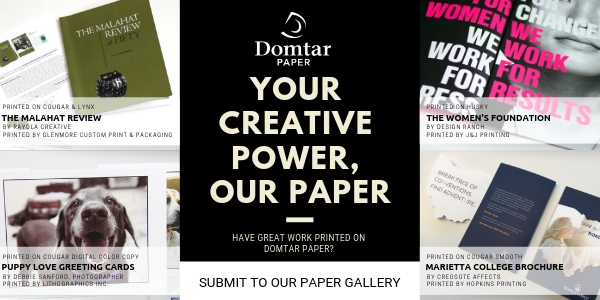 domtar paper gallery - great work printed on domtar paper